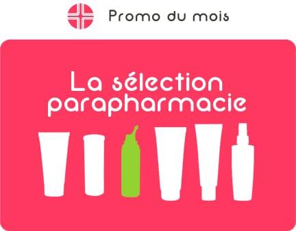 Toutes les promotions du moment sur les produits de parapharmacie sélectionnés par nos pharmaciens.
