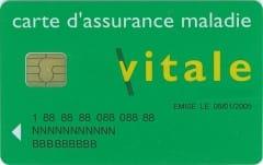 Mise a jour carte vitale - assurance maladie
