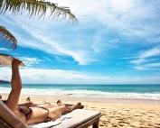 plage soleil lecture